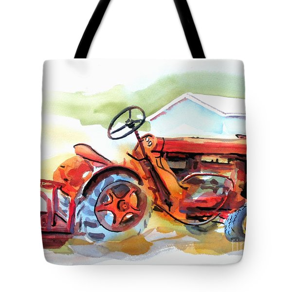 Ready For Work  Tote Bag by Kip DeVore