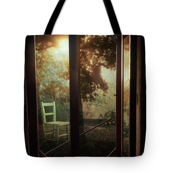 Rear Window Tote Bag by Taylan Soyturk