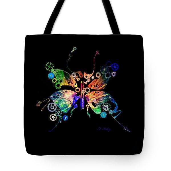 Rebirth Tote Bag by Fran Riley