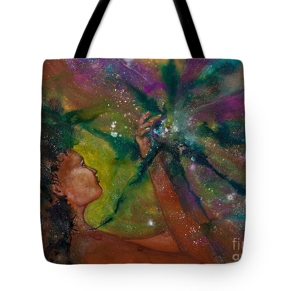 Recapturing Her Soul Tote Bag by Ilisa  Millermoon