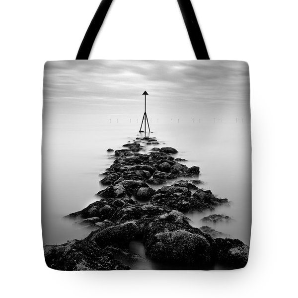 Receding Tide Tote Bag by Dave Bowman