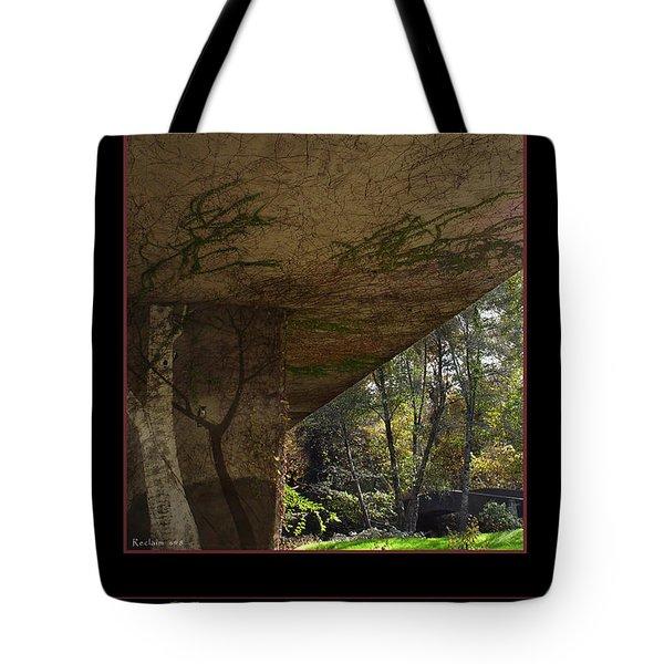 Reclaim no.8 Tote Bag by Peter Piatt