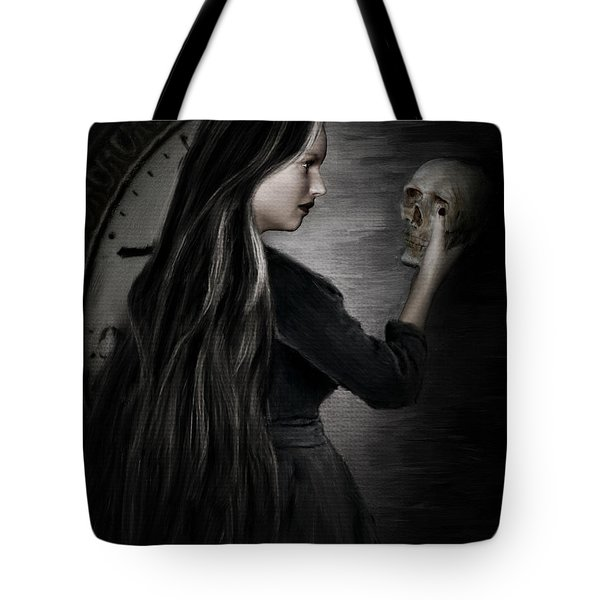 Recognition Of Death Tote Bag by Lourry Legarde