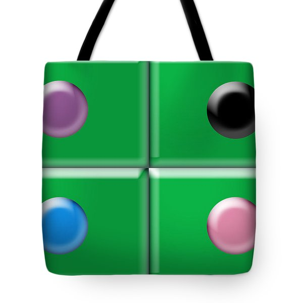 Rectangles and Circles Tote Bag by Gary Silverstein