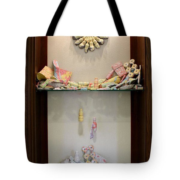 Recyclable Isn't Always Recycled and Efficiency Installed Tote Bag by Adam Long