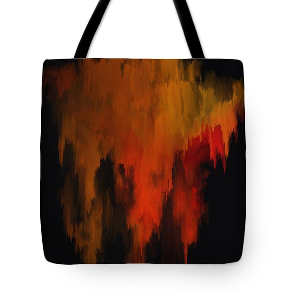 Red And Gold 1 Tote Bag by Michael Pickett