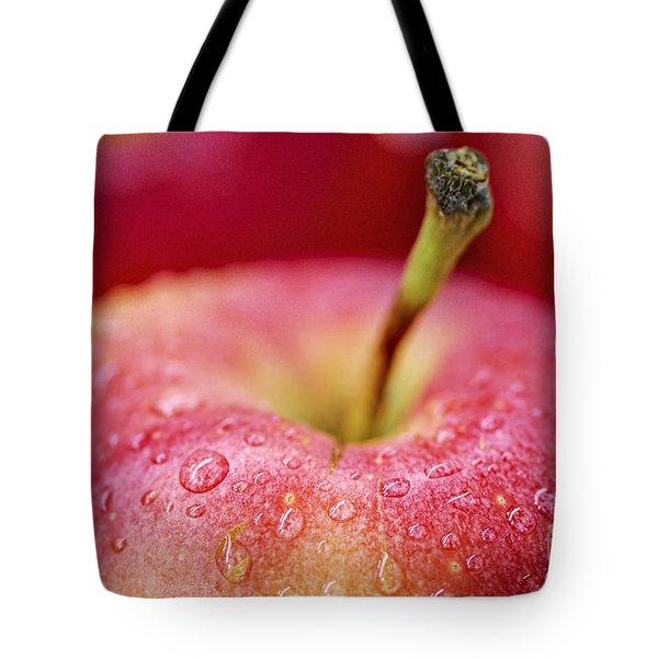 Red apple Tote Bag by Elena Elisseeva