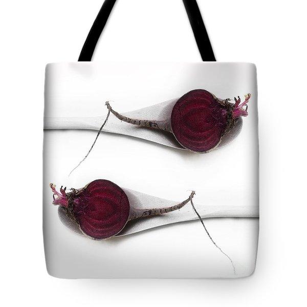 Red Beets Tote Bag by Priska Wettstein