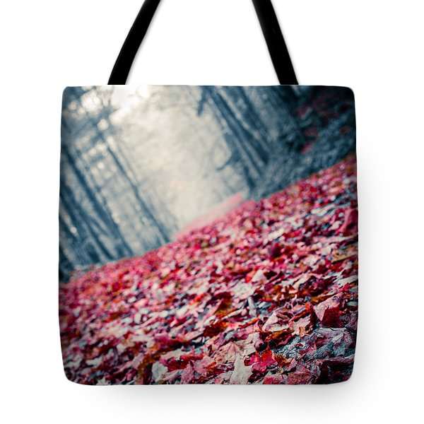 Red Carpet Tote Bag by Edward Fielding