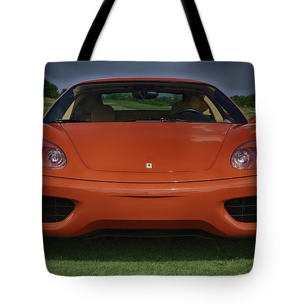 Red Dream Tote Bag by Sebastian Musial