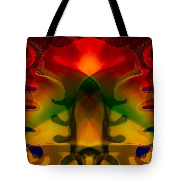 Red-Eyes Black Dragon Tote Bag by Omaste Witkowski