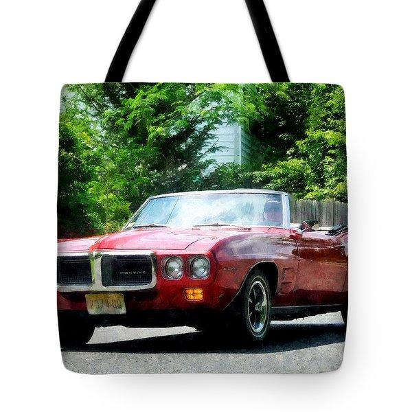 Red Firebird Convertible Tote Bag by Susan Savad