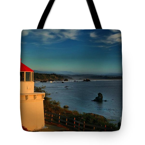 Red Head Light Tote Bag by Adam Jewell