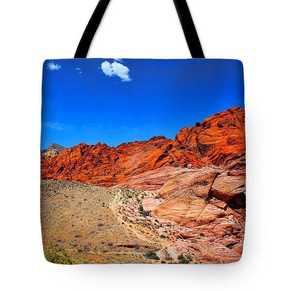 Red Rock Canyon Tote Bag by Mariola Bitner