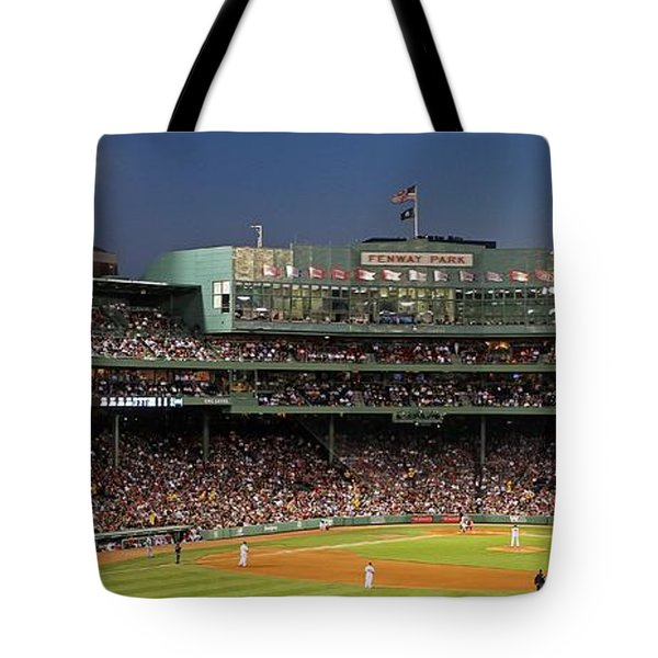 Red Sox And Fenway Park  Tote Bag by Juergen Roth