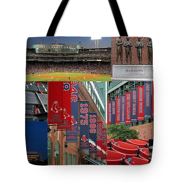 Red Sox Nation Tote Bag by Juergen Roth