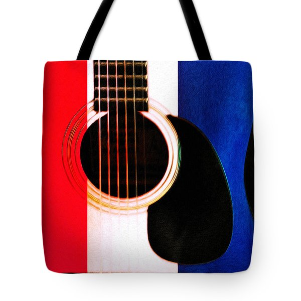 Red White And Blues Tote Bag by Bill Cannon
