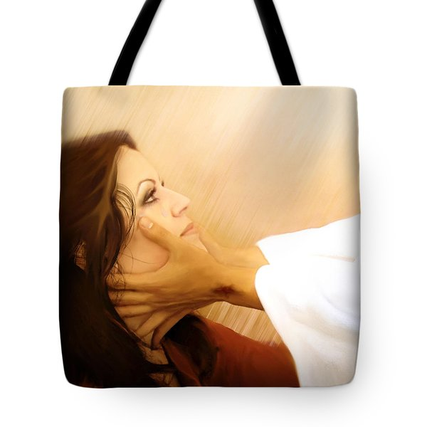 Redeemed Tote Bag by Jennifer Page