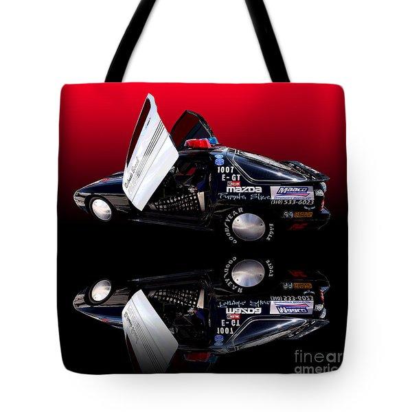 Redondo Beach Police Cruiser Tote Bag by Jim Carrell