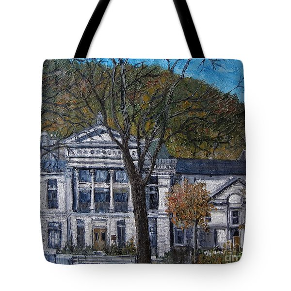 Redpath Museum Tote Bag by Reb Frost