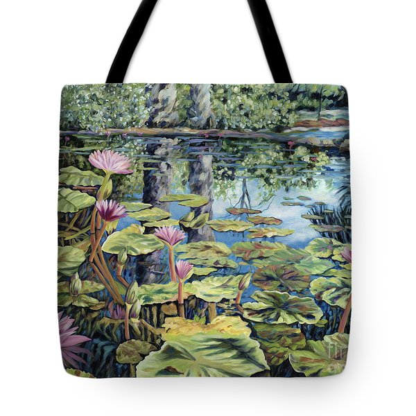 Reflecting Pond Tote Bag by Danielle  Perry