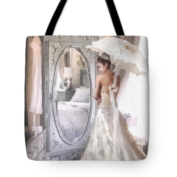 Reflection Tote Bag by Mo T