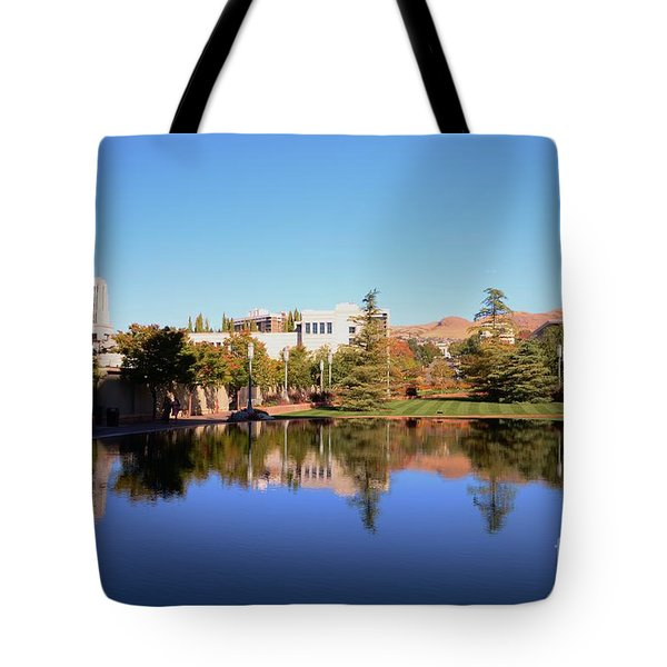 Reflection Pond Tote Bag by Kathleen Struckle