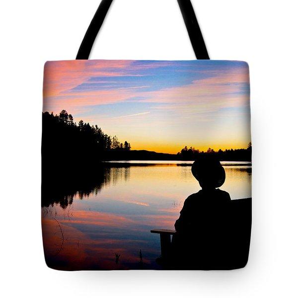 Reflection Reflection Tote Bag by John Haldane