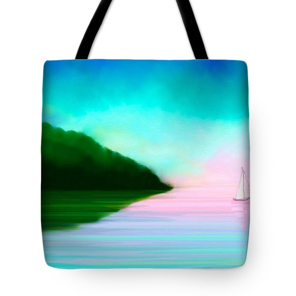 Reflections Tote Bag by Anita Lewis