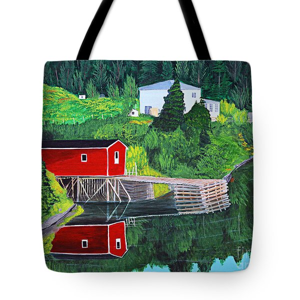 Reflections Tote Bag by Barbara Griffin