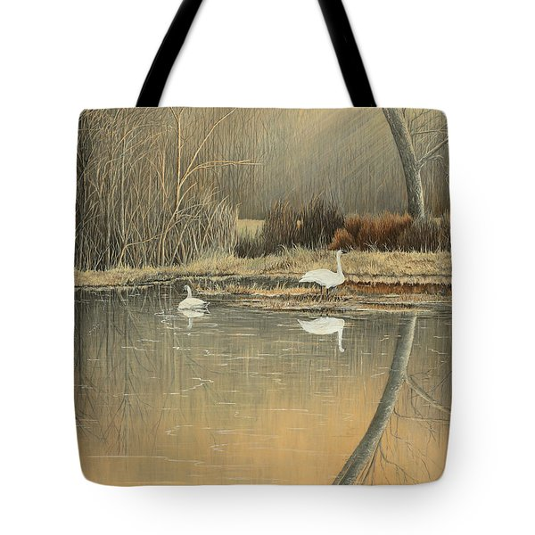 Reflections Tote Bag by Mary Ann King