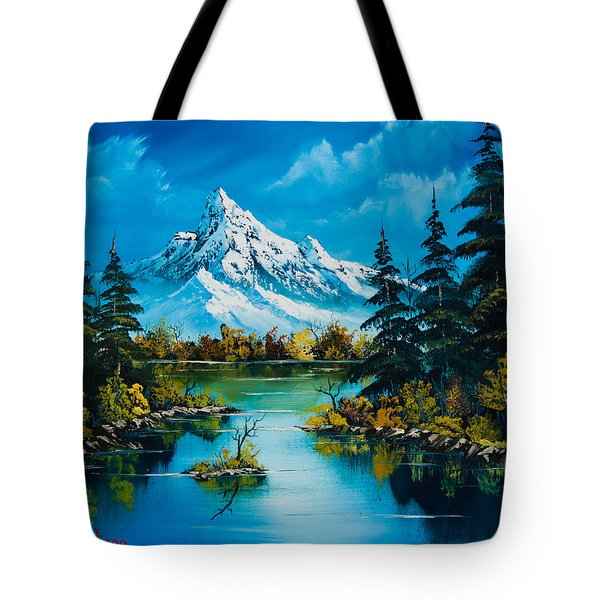 Reflections Of Fall Tote Bag by C Steele