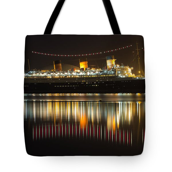 Reflections Of Queen Mary Tote Bag by Heidi Smith