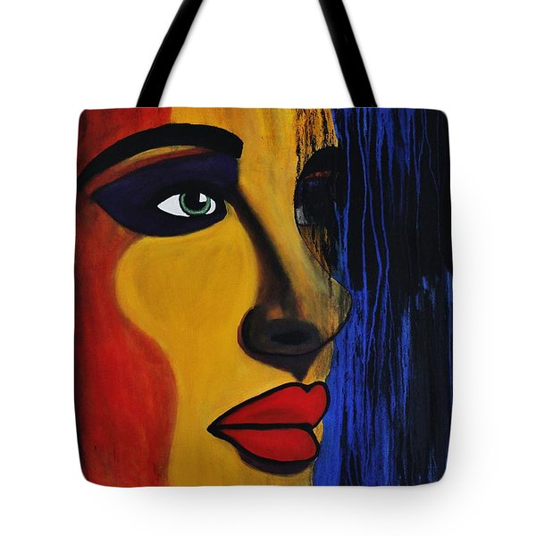 Reign Over Me 2 Tote Bag by Michael Cross