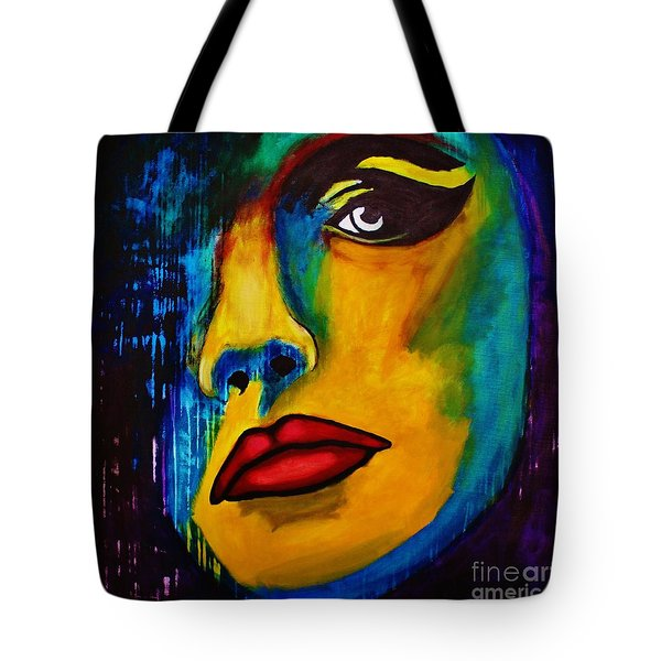 Reign Over Me Tote Bag by Michael Cross