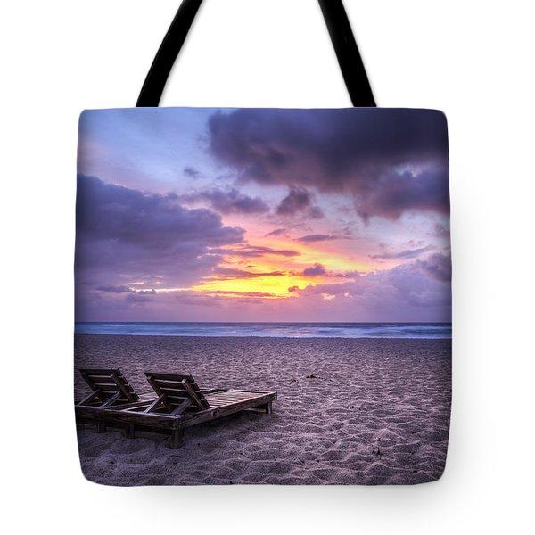 Relax Tote Bag by Debra and Dave Vanderlaan