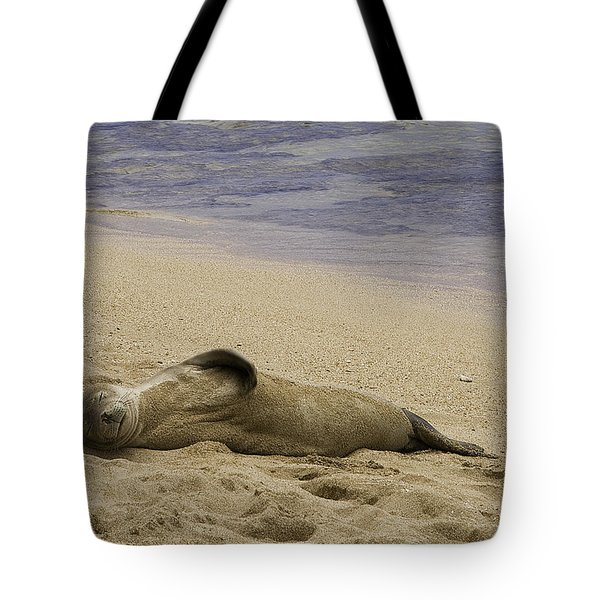 Relaxing Tote Bag by Joanna Madloch