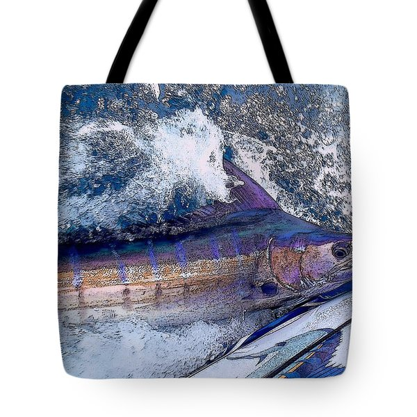 Release Tote Bag by Carey Chen