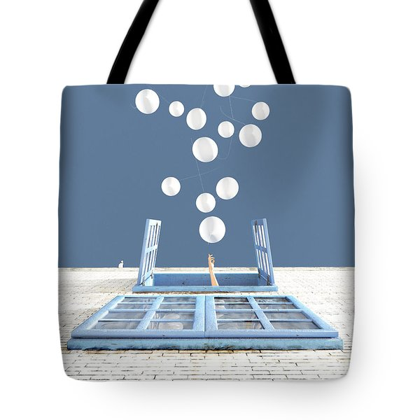 Release Tote Bag by Cynthia Decker