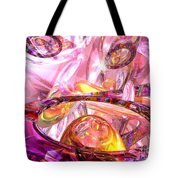 Released Happiness Tote Bag by Alexander Butler