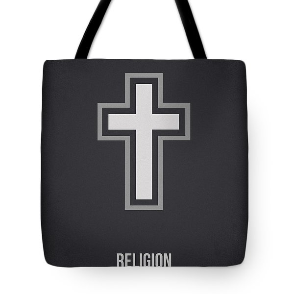 Religion Tote Bag by Aged Pixel