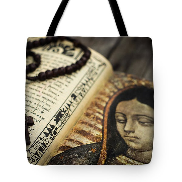 Religious Concept Tote Bag by Aged Pixel
