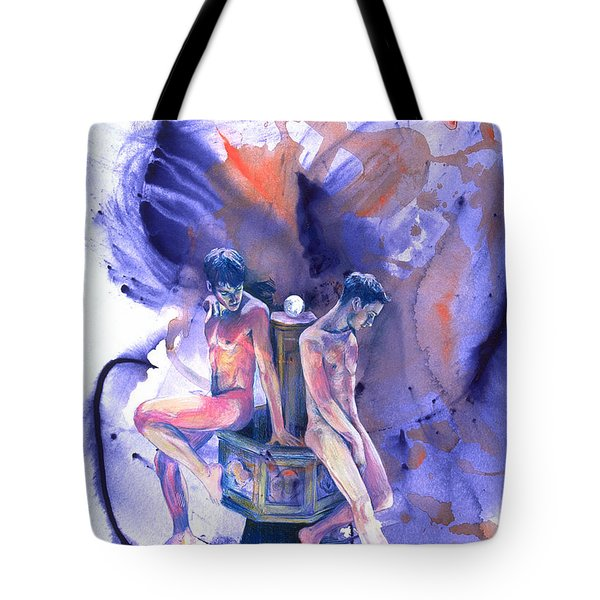 Reluctant Grace Tote Bag by Rene Capone