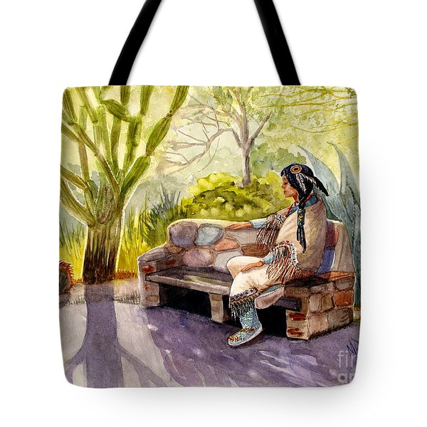 Remembering The Old Ones Tote Bag by Marilyn Smith