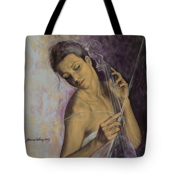 Remembrance Tote Bag by Dorina  Costras