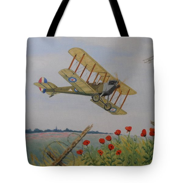Remembrance Tote Bag by Elaine Jones