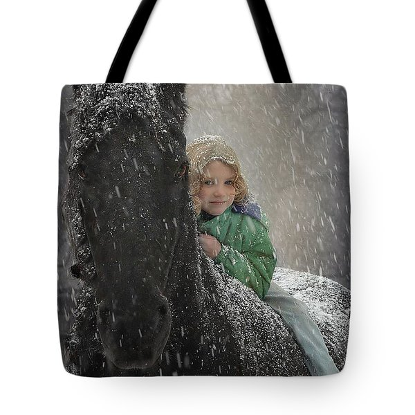 Remme And Rory Tote Bag by Fran J Scott