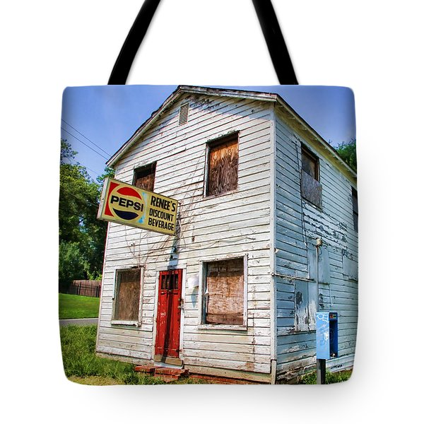 Renee's Discount Beverage Store By Diana Sainz Tote Bag by Diana Sainz