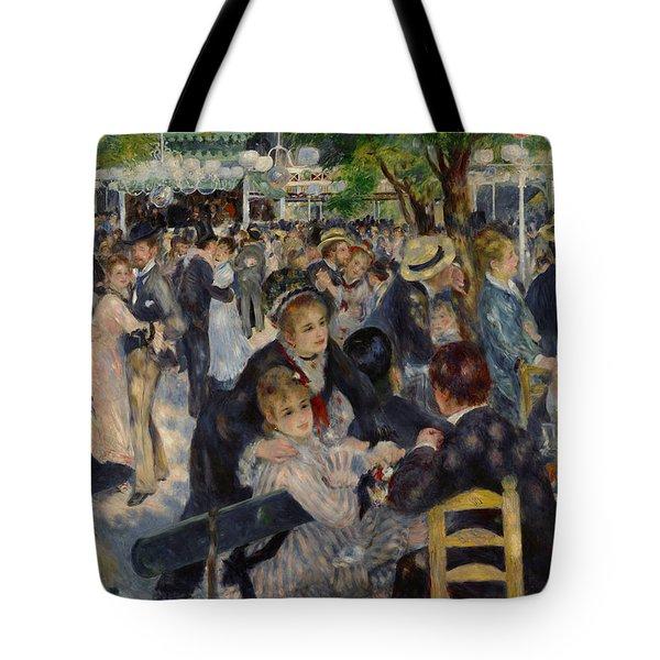 Renoir Moulin De Galette Tote Bag by Granger