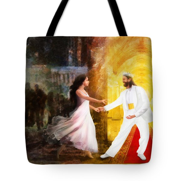 Rescued From Darkness Tote Bag by Francesa Miller